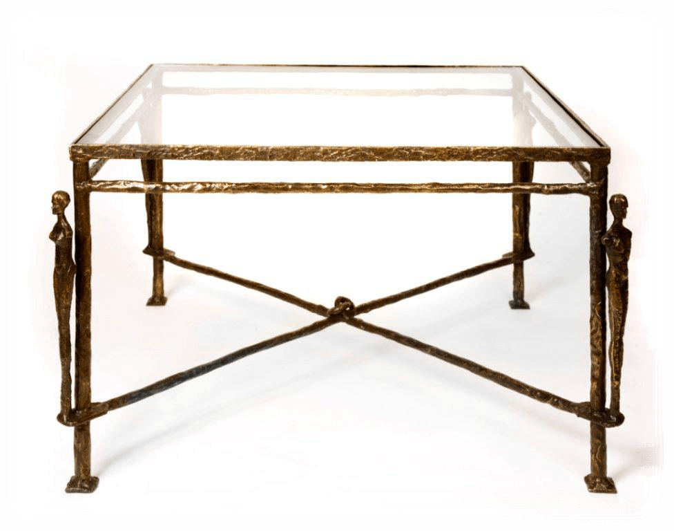 Diego Giacometti Caryatids Bronze Table