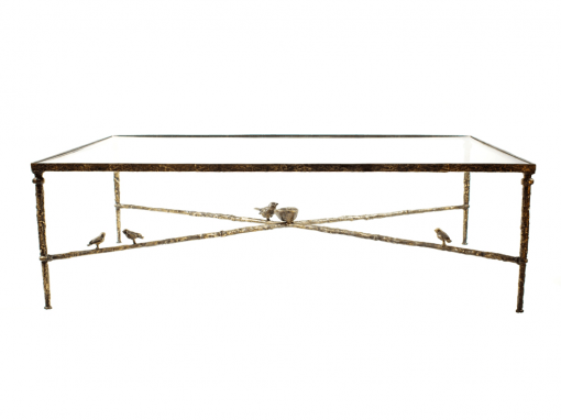 Giacometti Coffee Table With Birds