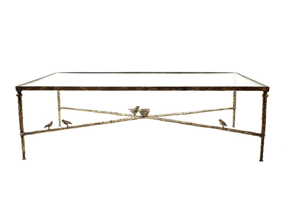 Coffee Table With Birds