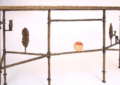 Giacometti_Cyrpress_Tree_Console Bronz Detail
