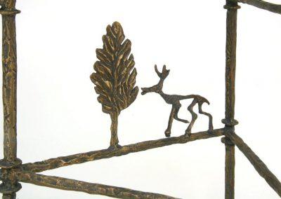 Giacometti_Cyrpress_Tree_ConsoleDetail Bronz