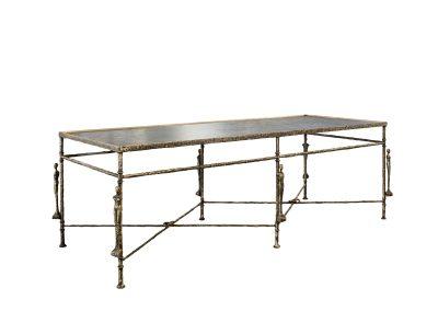 Diego Giacometti Caryatids Rectangular-Table