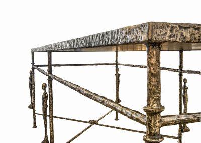 Caryatids Rectangular Table detail 8
